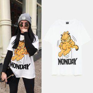 Zara Garfield Monday T-shirt